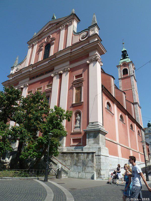 L'église franciscaine