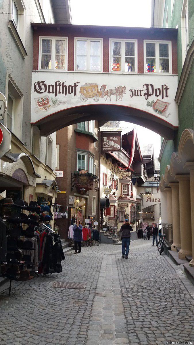 Les rues de Kufstein