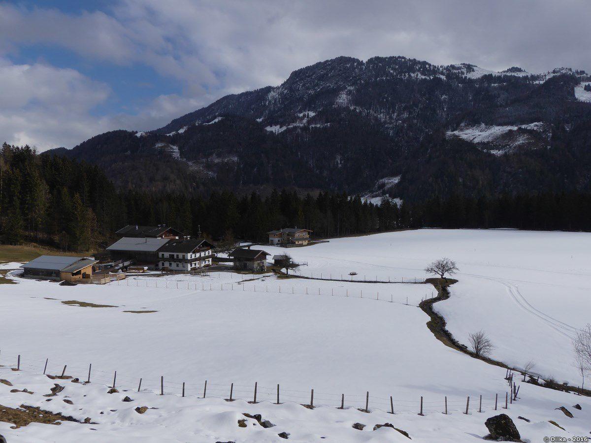 De Griesenau à Walchsee