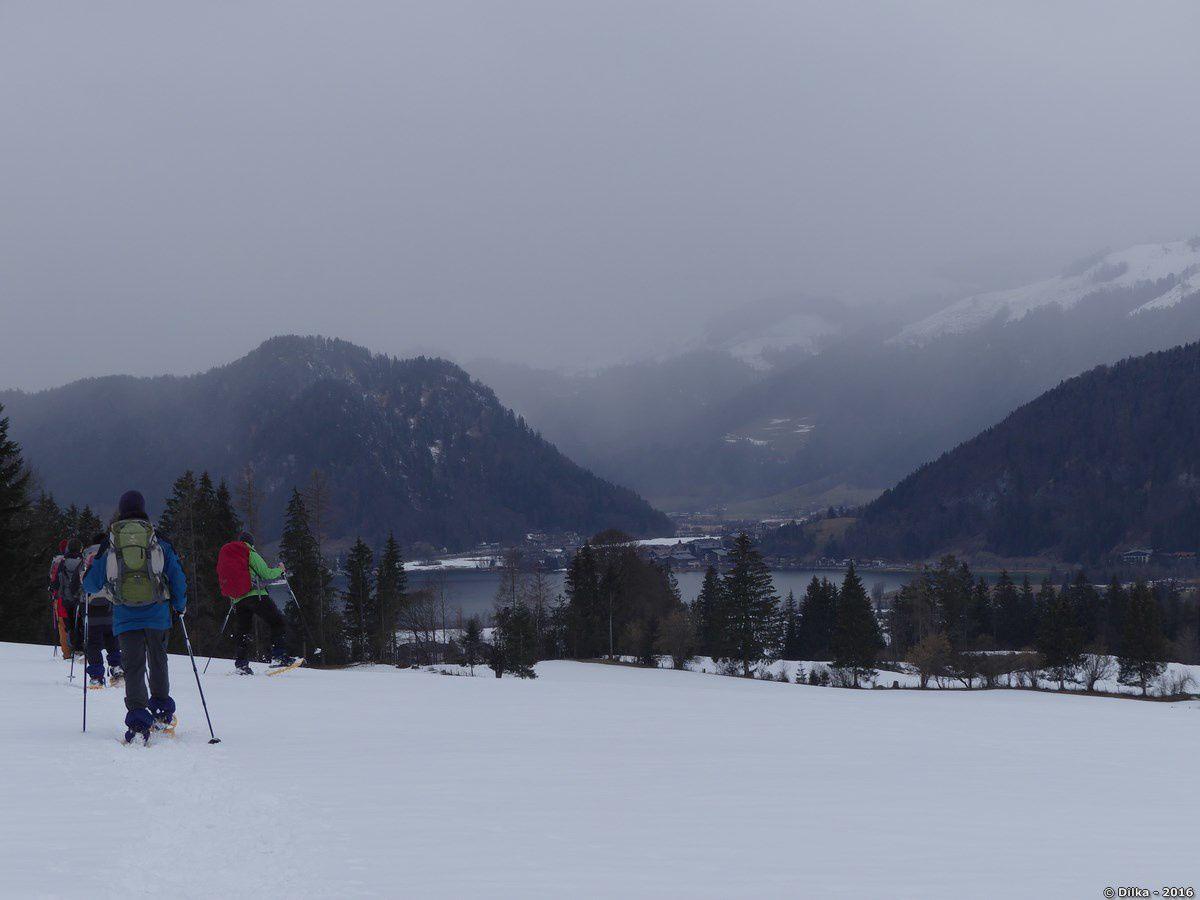 Arrivée à Wahlsee, le lac est en vue