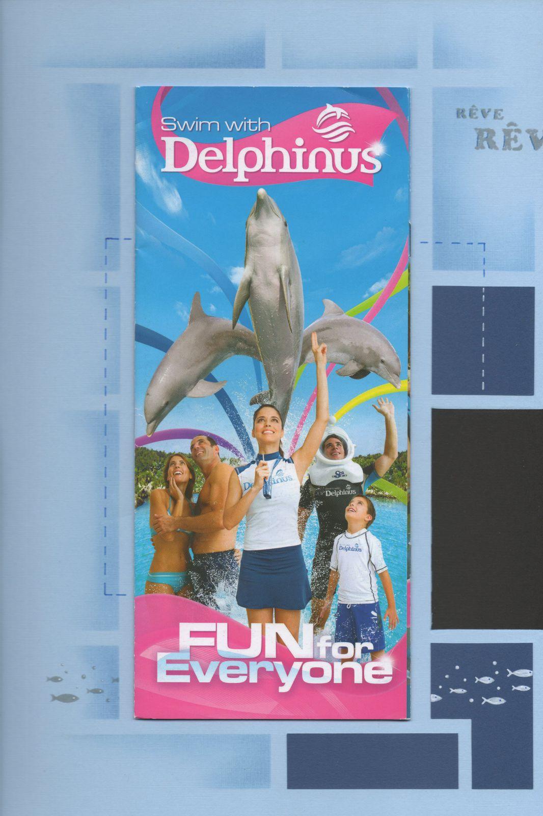 Pages prédécoupées : Swim with Delphinus