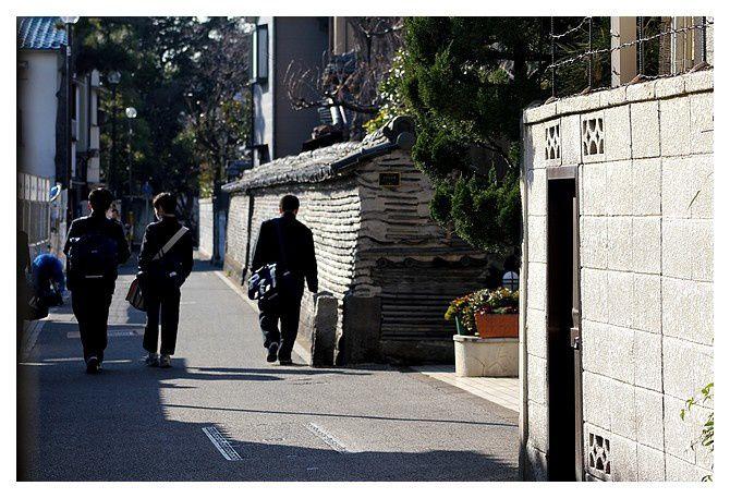 mur de terre de Kannonji Temple