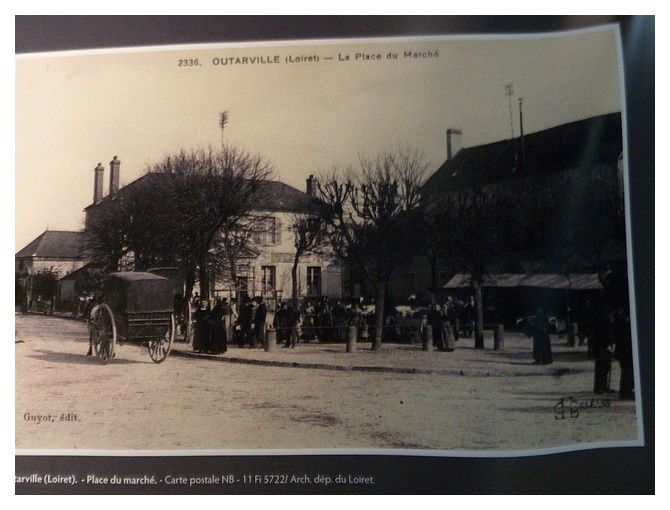 photo d'un marché à Outarville