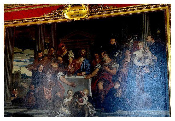 Les Pélerins d'Emmaus,   Veronèse