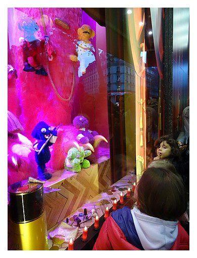 Paris : les vitrines de Noël 2014