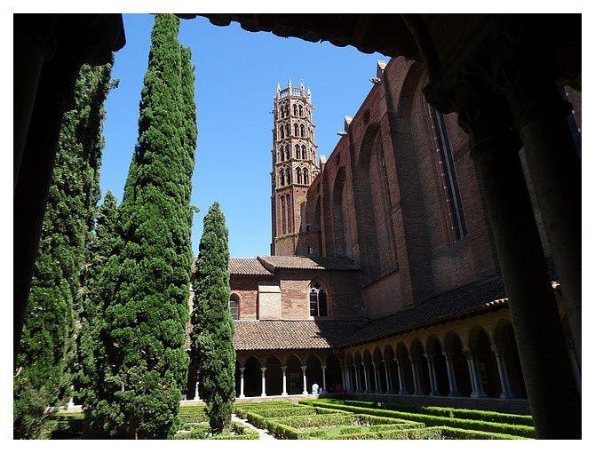 Toulouse, couvent des Jacobins&#x3B; juillet 2015
