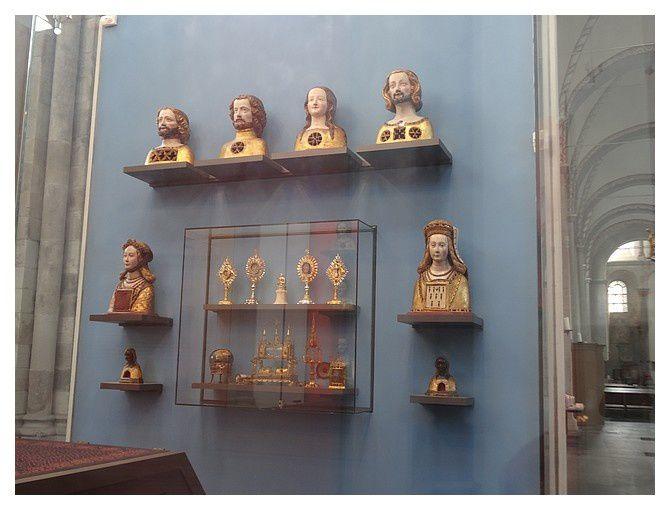 Cologne : basilique Saint-Cunibert