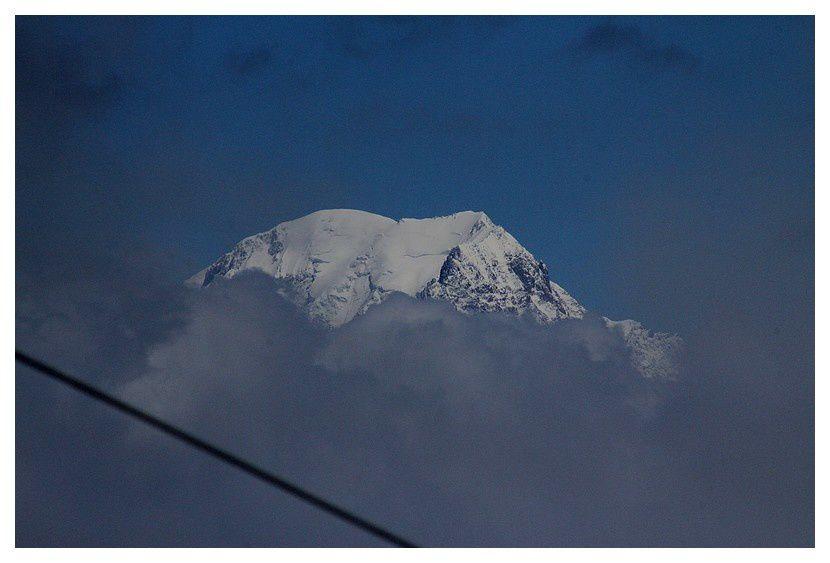 et le Mont Blanc