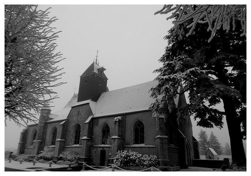 l'église de Mainvilliers
