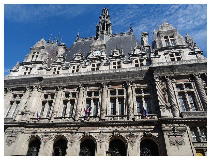 Paris, mairie du 10 ème arrondissement.