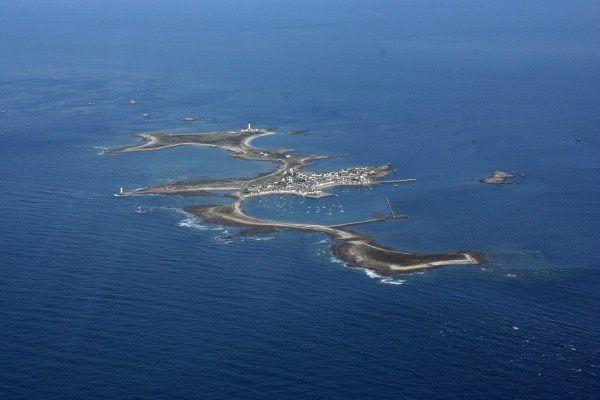 L'île de Sein (vue alt. 900 m.)