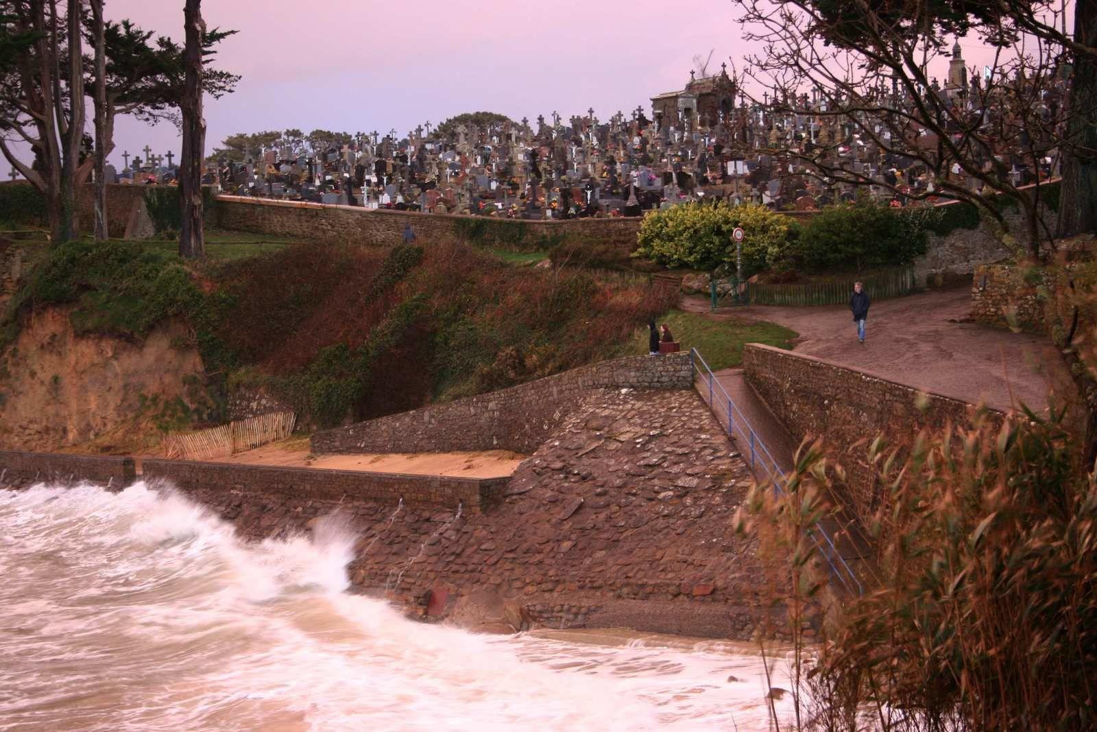 234 -  Vagues, rivages, Treboul, fevrier, mars, 2014, Photos ©GeoMar