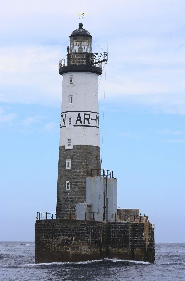 Phare d'AR-MEN   2 août 2013