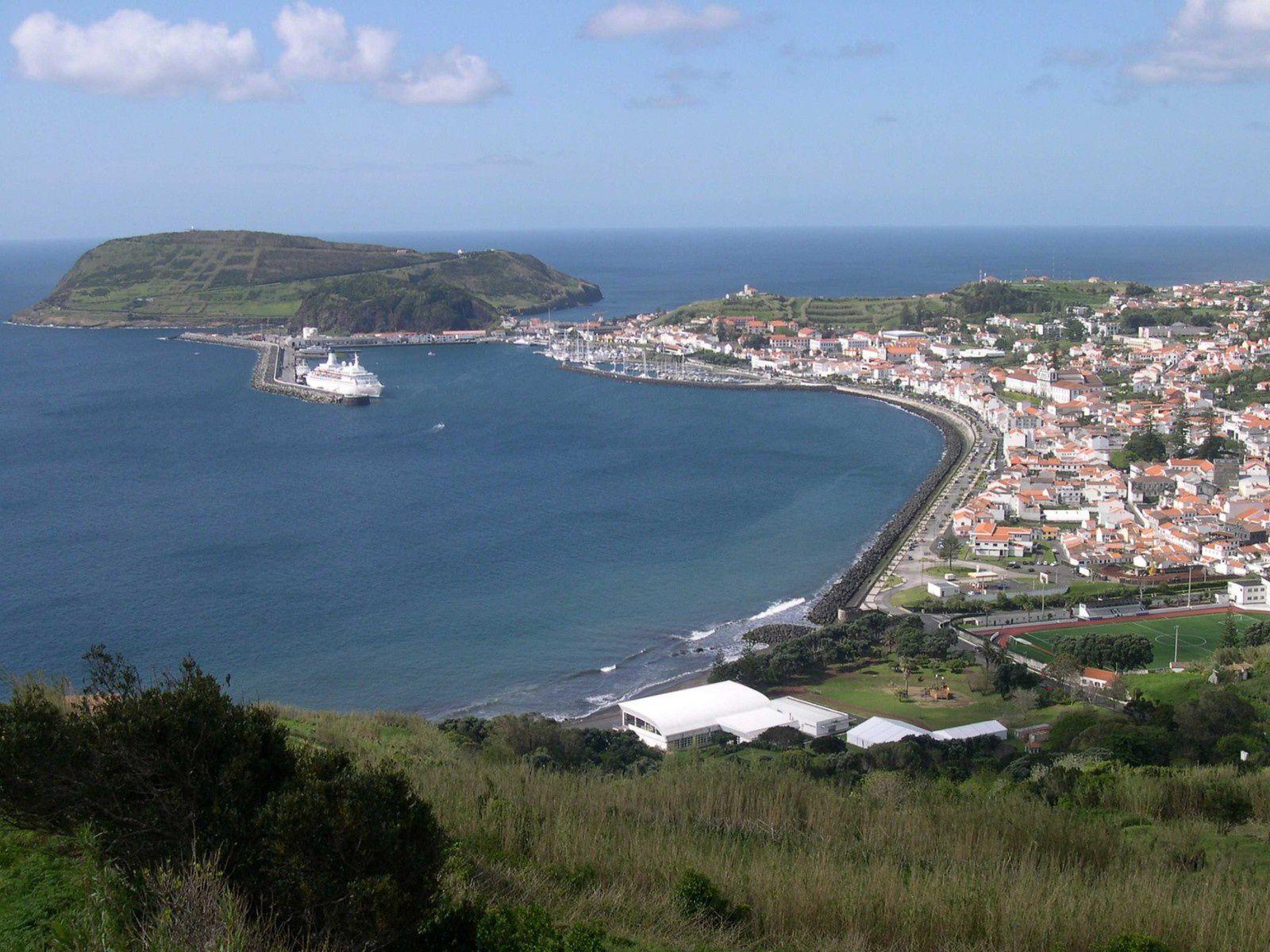 Faial, le port de Horta
