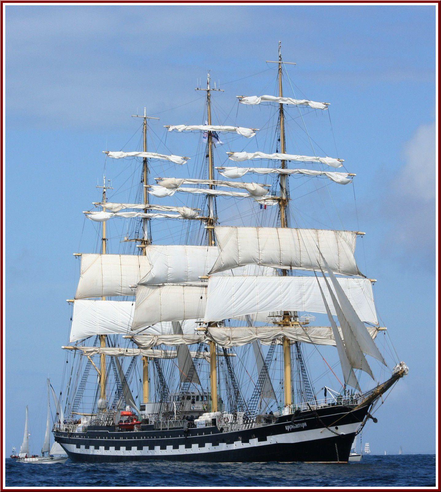 Rassemblement des voiliers traditionnels tous les deux ans... Temps Fête Douarnenez 2012...