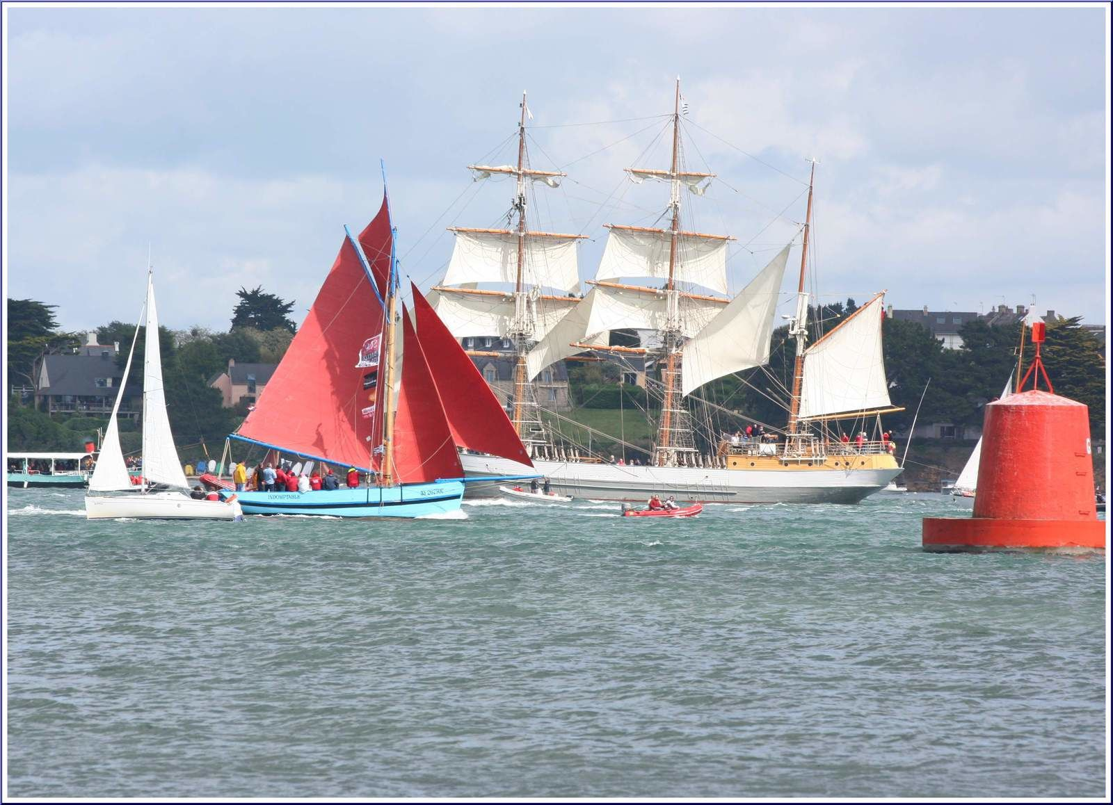 194 -  Voilier KASKELOT, trois-mâts-barque anglais 1948, caractéristiques, photos by GeoMar, voiliers traditionnels