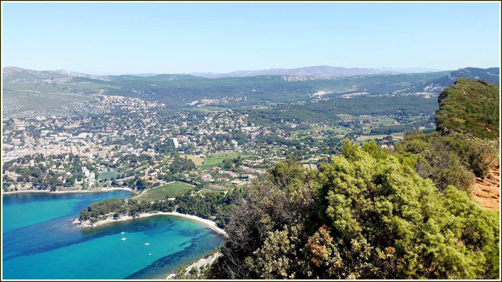 278 - La route des Crêtes de Soubeyran, de la Ciotat à Cassis, Escalades, photos en passant...