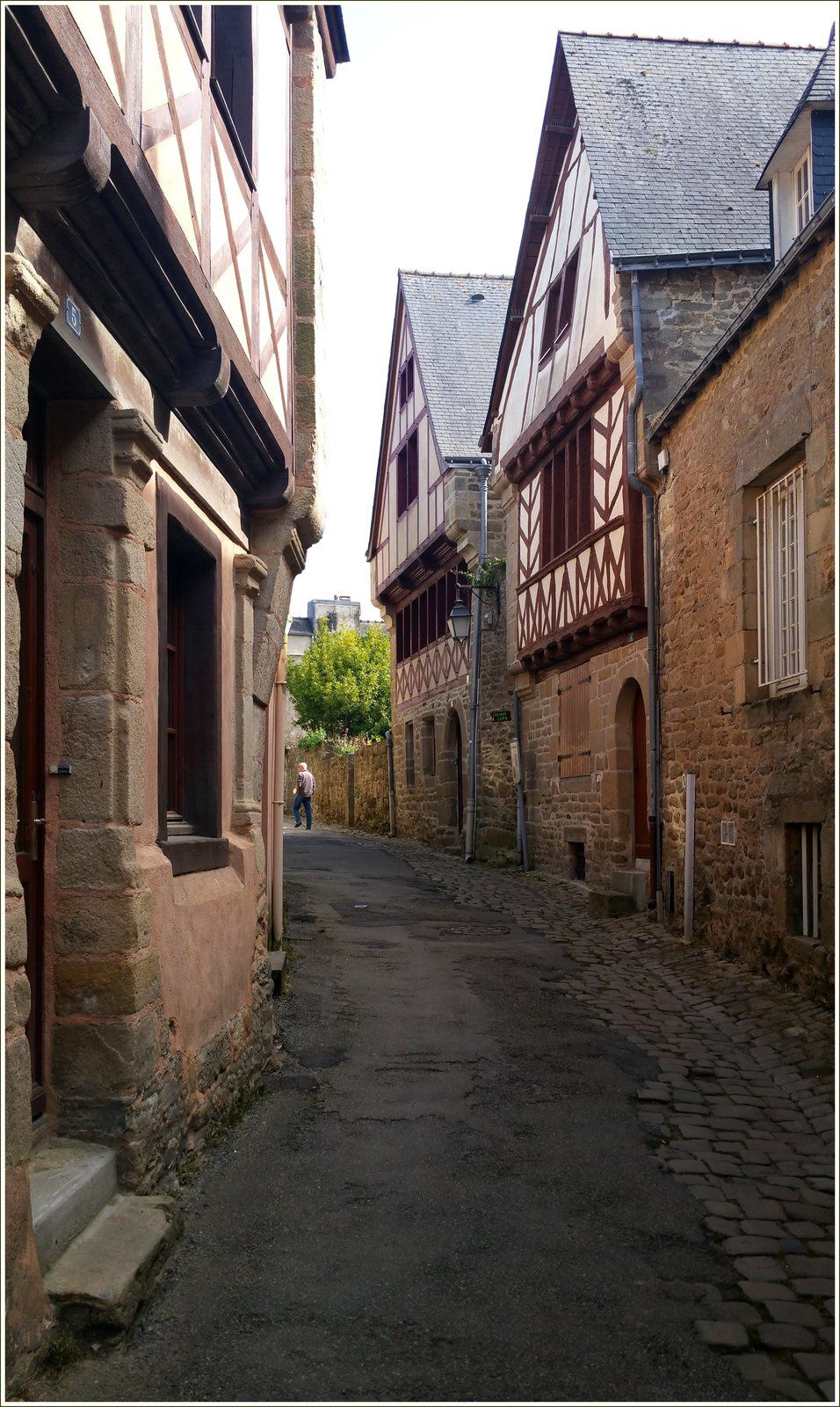 Ruelle de Saint-Goustan.