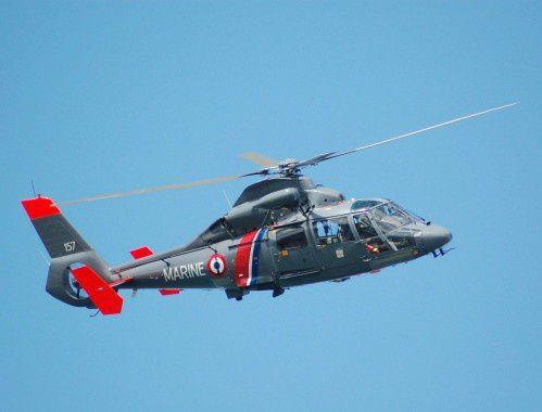 Hélico Dauphin  Aéronautique Marine Photo Remy BPL 2.