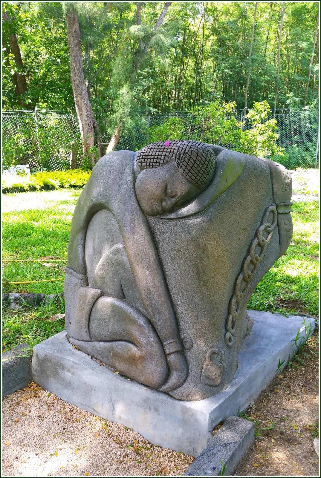 Mémorial de l'esclavagisme du Morne Brabant à Mauritius