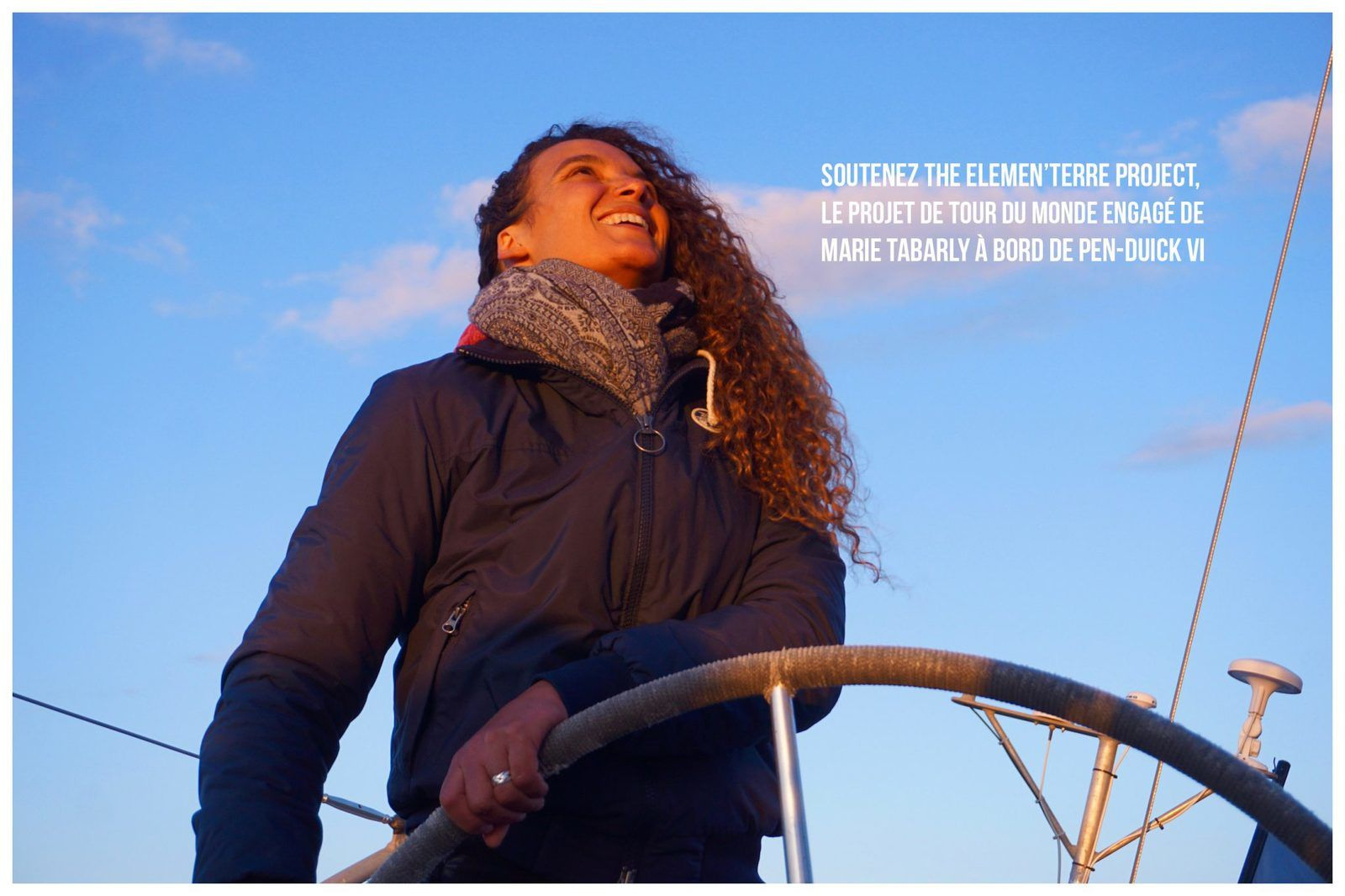 """The Elemen'Terre Project""""  Marie Tabarly (cliquer ci-dessous)"""