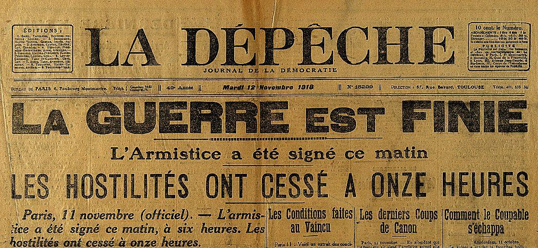 11 heures... 11 novembre 1918...