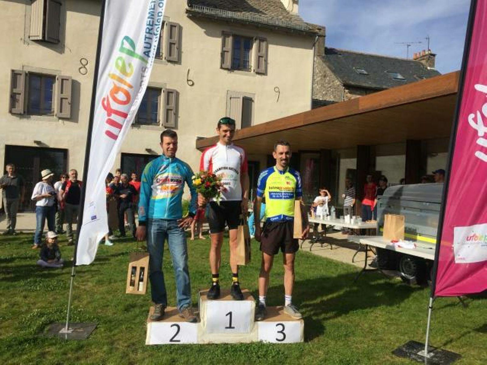 Nicolas Nespoulous 3ème du Championnat Aveyron UFOLEP 2ème Caté
