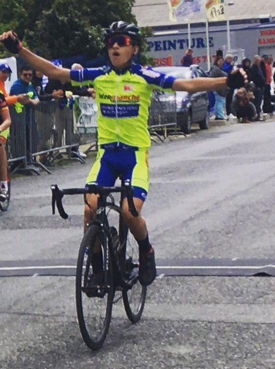 Victoire d'Adrien Vidal à Rodez