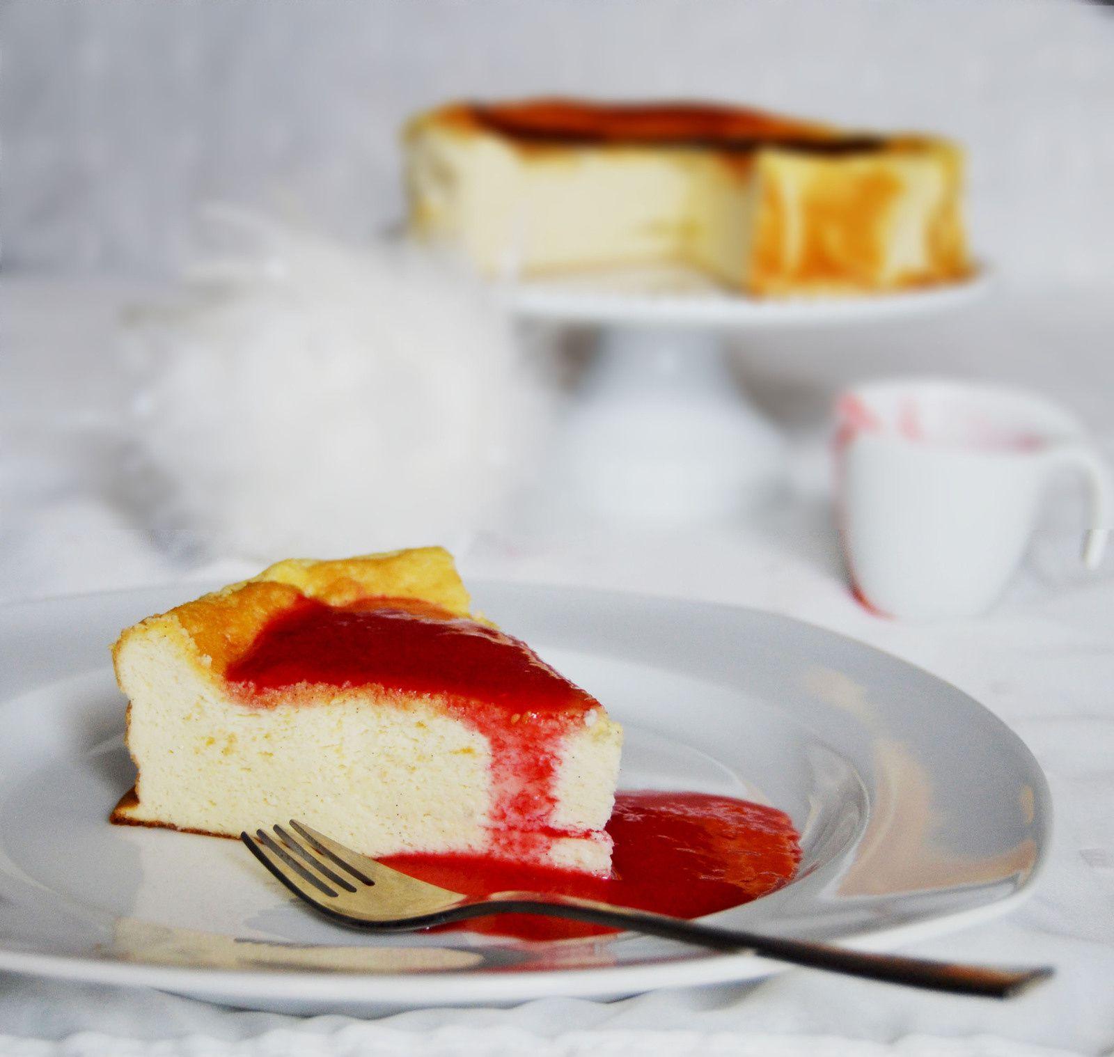 Gâteau Nuage au fromage blanc &amp&#x3B; vanille