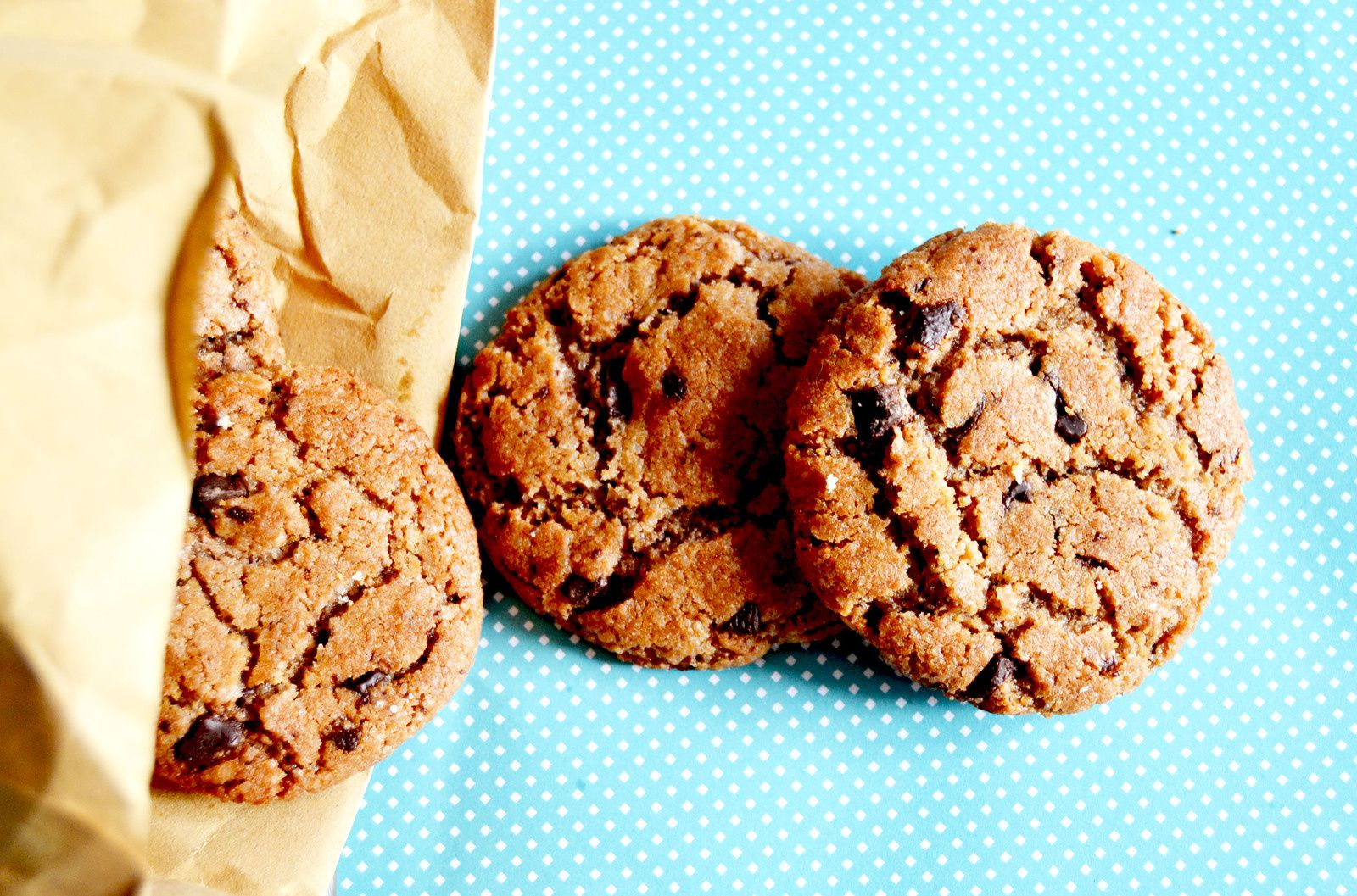 Cookies 100% choco = nutella &amp&#x3B; pépite choco