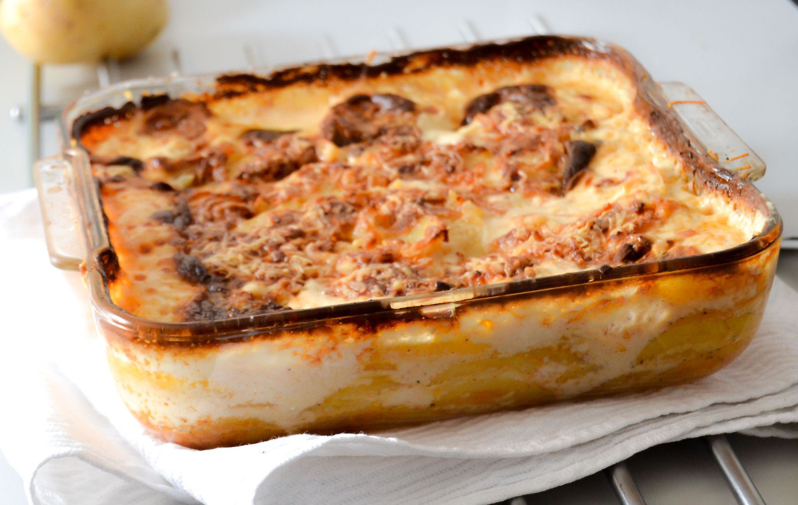 gratin de pomme de terre la cr me shawanna recettes foodography. Black Bedroom Furniture Sets. Home Design Ideas