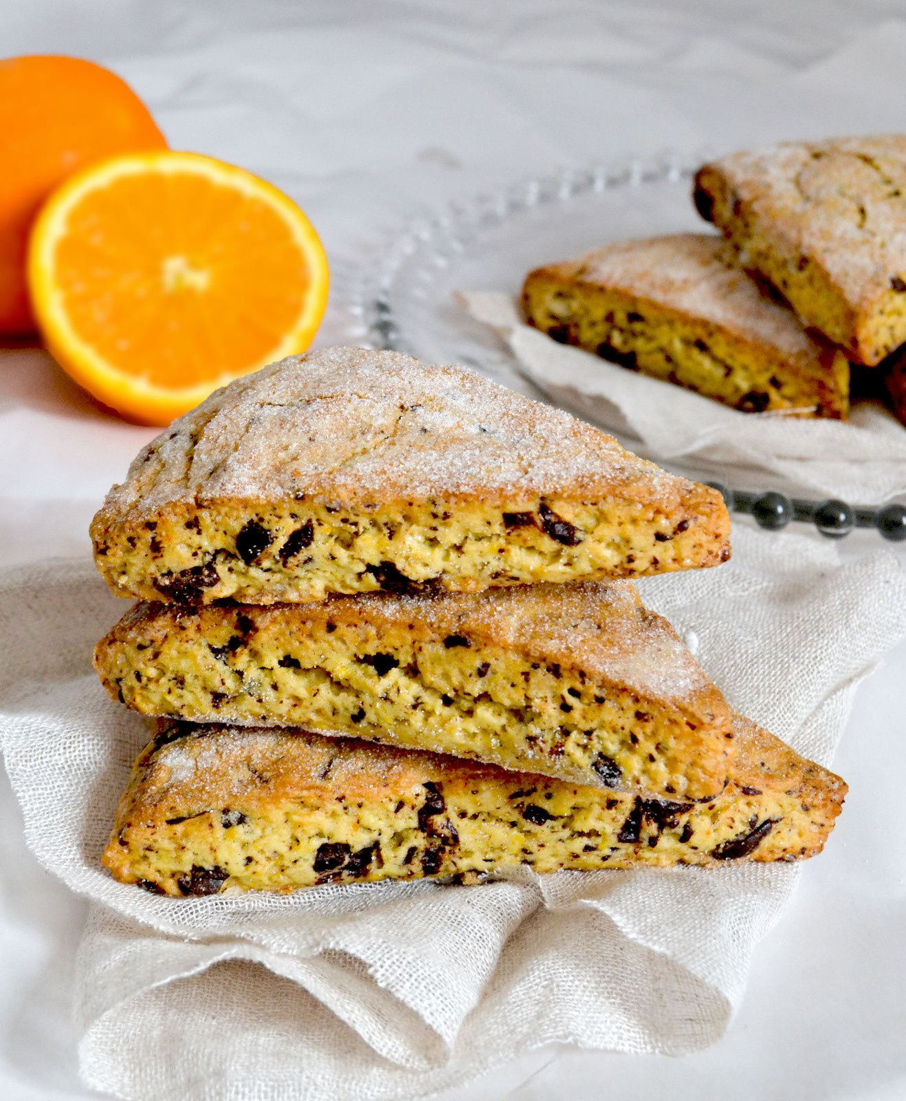 Scones Orange/Chocolat