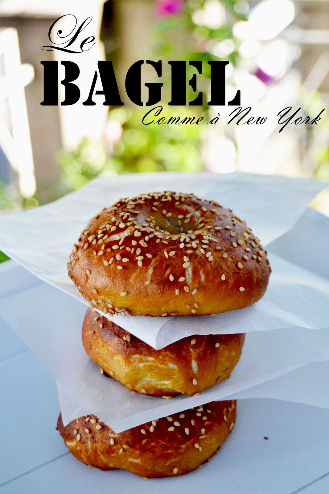 Bagel comme à New York