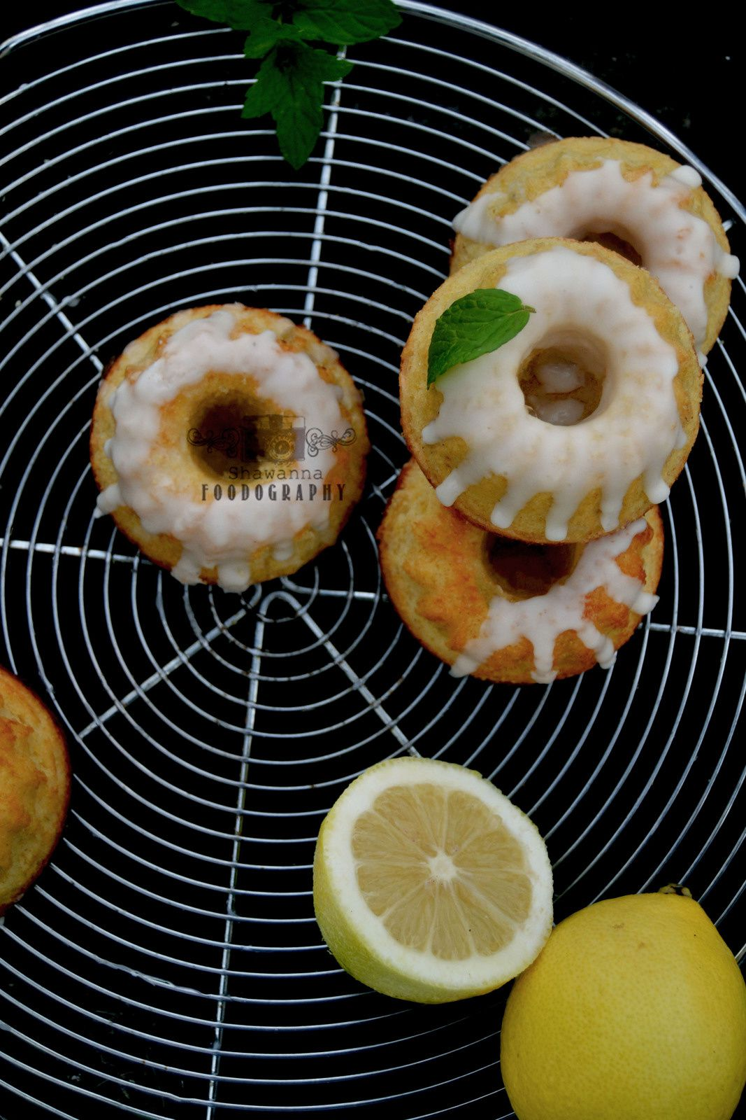 Mini bundt cake au citron