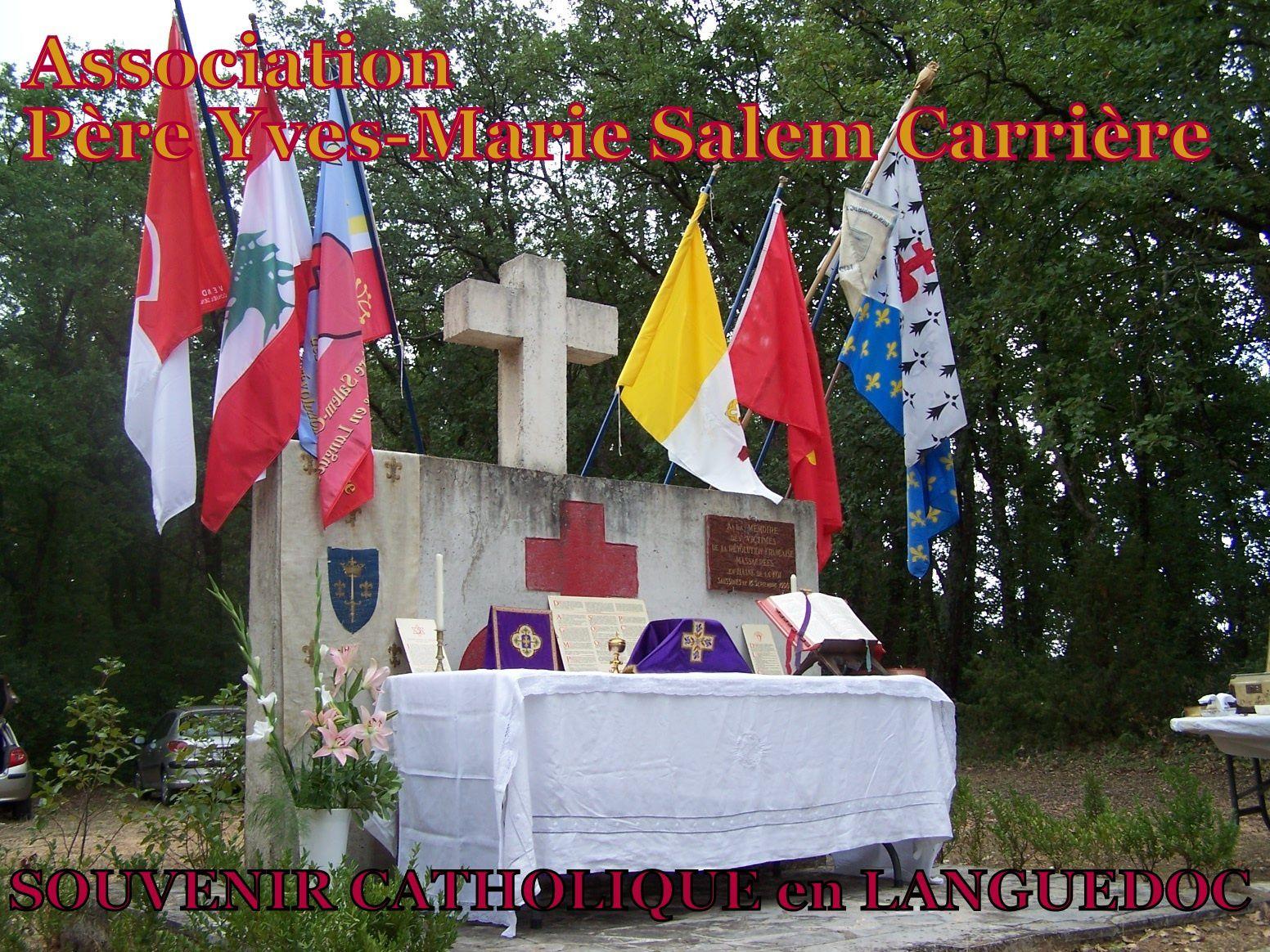 SOUVENIR CATHOLIQUE en LANGUEDOC, 24 SEPTEMBRE...