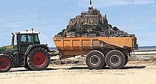 LE MONT SAINT MICHEL, MERVEILLE DE L'OCCIDENT...