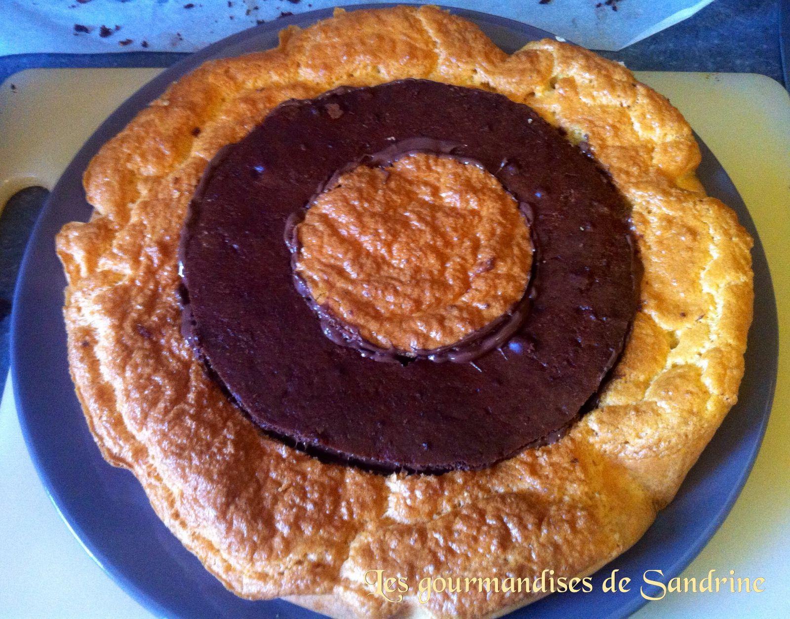 Gâteau damier chocolat vanille - recette pas à pas - un tour choco-nut