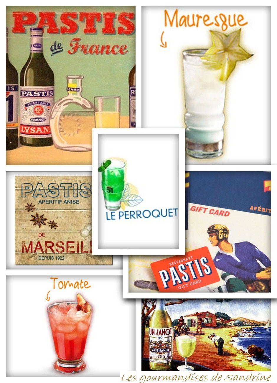 Cocktails à base de Pastis®