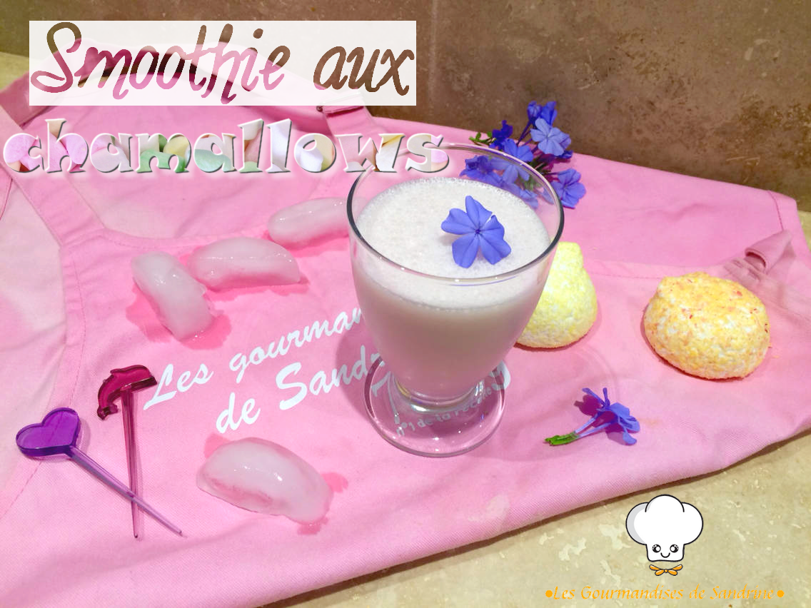 Smoothie aux chamallows {Foodista Challenge #9}