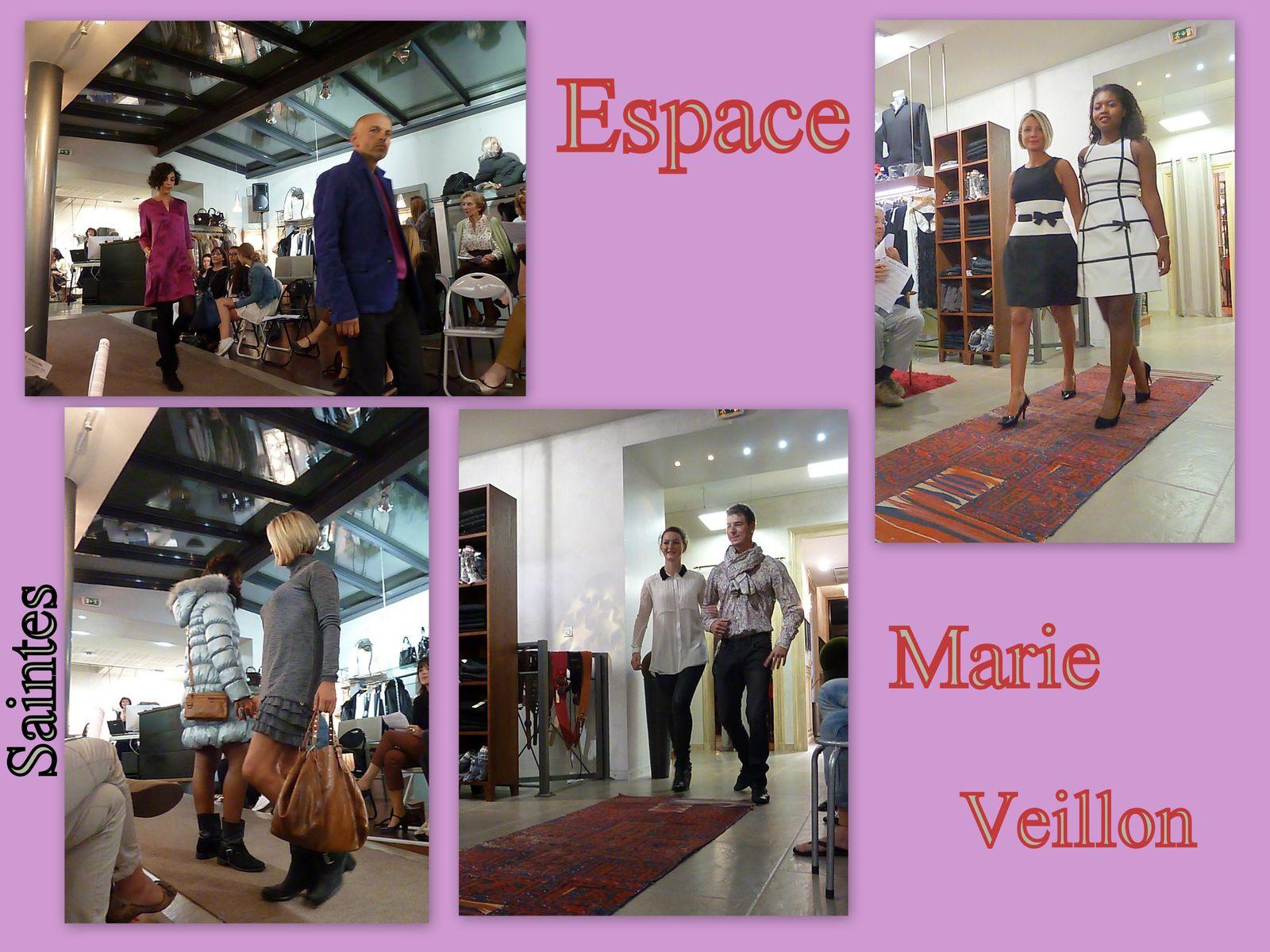 27 - Mode  &quot&#x3B; Espace Marie Veillon &quot&#x3B; Défilé - Programme flamboyant pour une cathédrale - Retraités chez Catherine Quéré