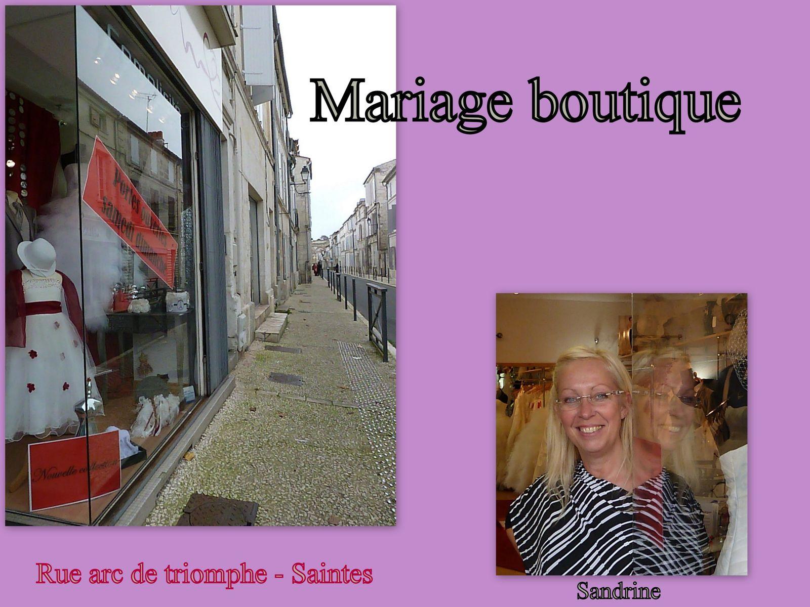 """Ce week end sous le signe du mariage à Saintes - Parc des expos et aussi l'incontournable """" Mariage Boutique """" - Octobre rose .. Sus au cancer -"""