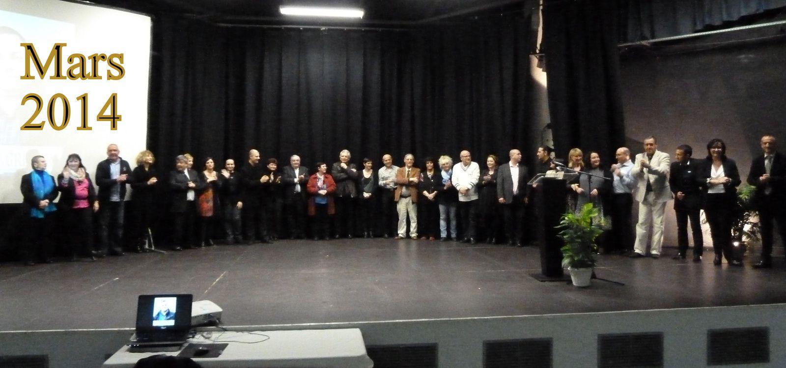 Les photos de tous les candidats et bien sûr le discours en totalité d'Evelyne Parisi, mais ce sera dans les jours à venir.
