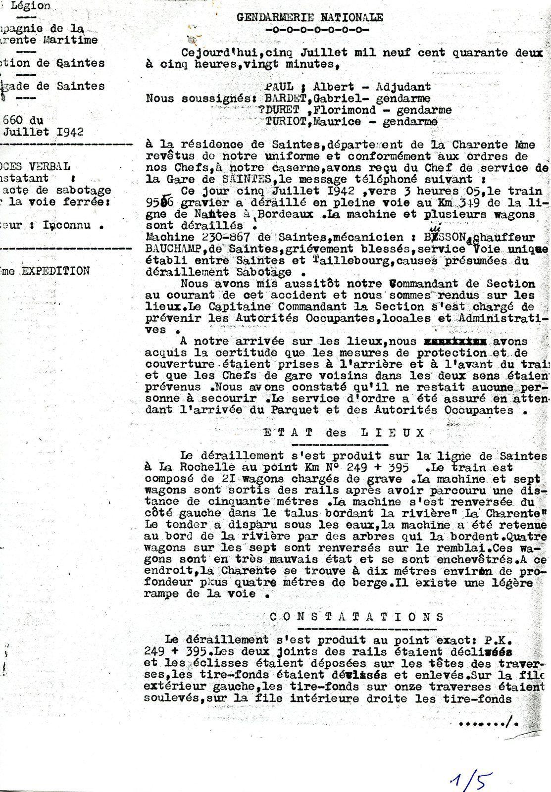 Les dossiers ne sont jamais refermés définitivement, en effet d'autres documents se trouvent aussi aux archives SNCF, mais aussi des éléments sont encore dans la mémoire des témoins, puis combien de documents dorment dans les tiroirs. A savoir que le terrain parle encore....