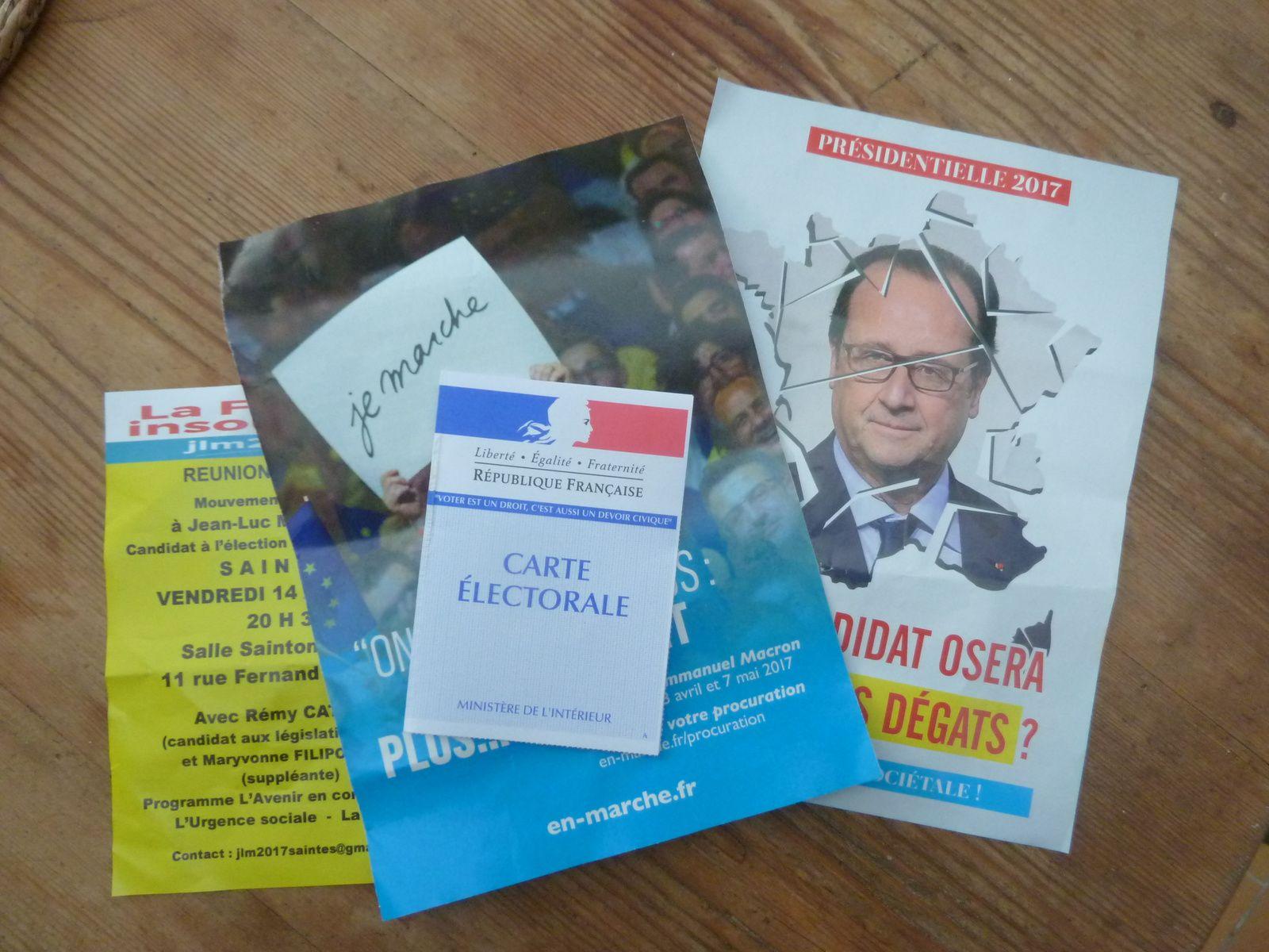 """Notes: la carte d'électeur a été posée sur les tracts pour un équilibre de ceux présentés. Maintenant petit voyage dans la """" saga-passion """" de l'auteur de Culture-histoire.... crash avion et traçabilité, dernières nouvelles"""