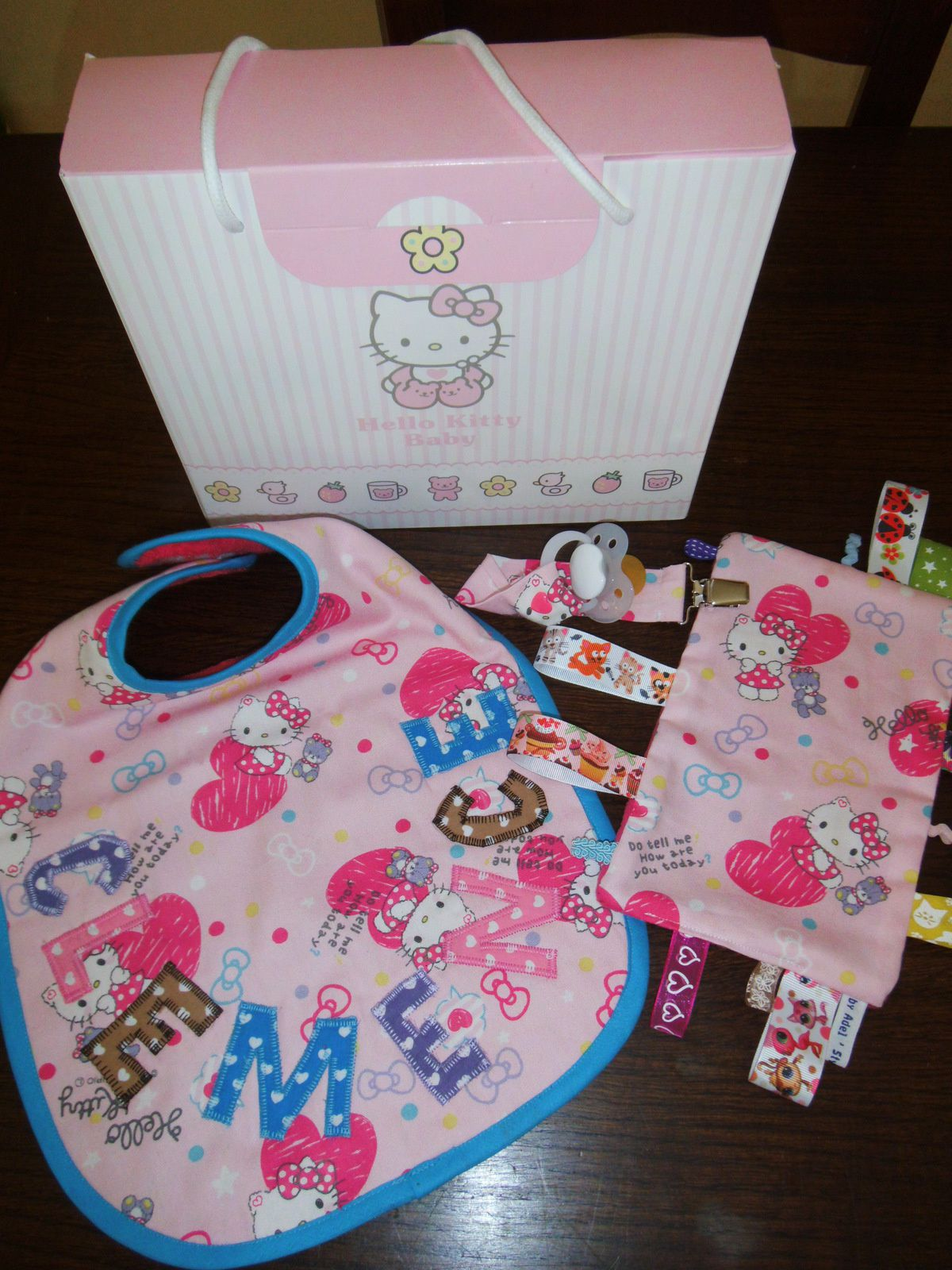 Coffret naissance girly kitty