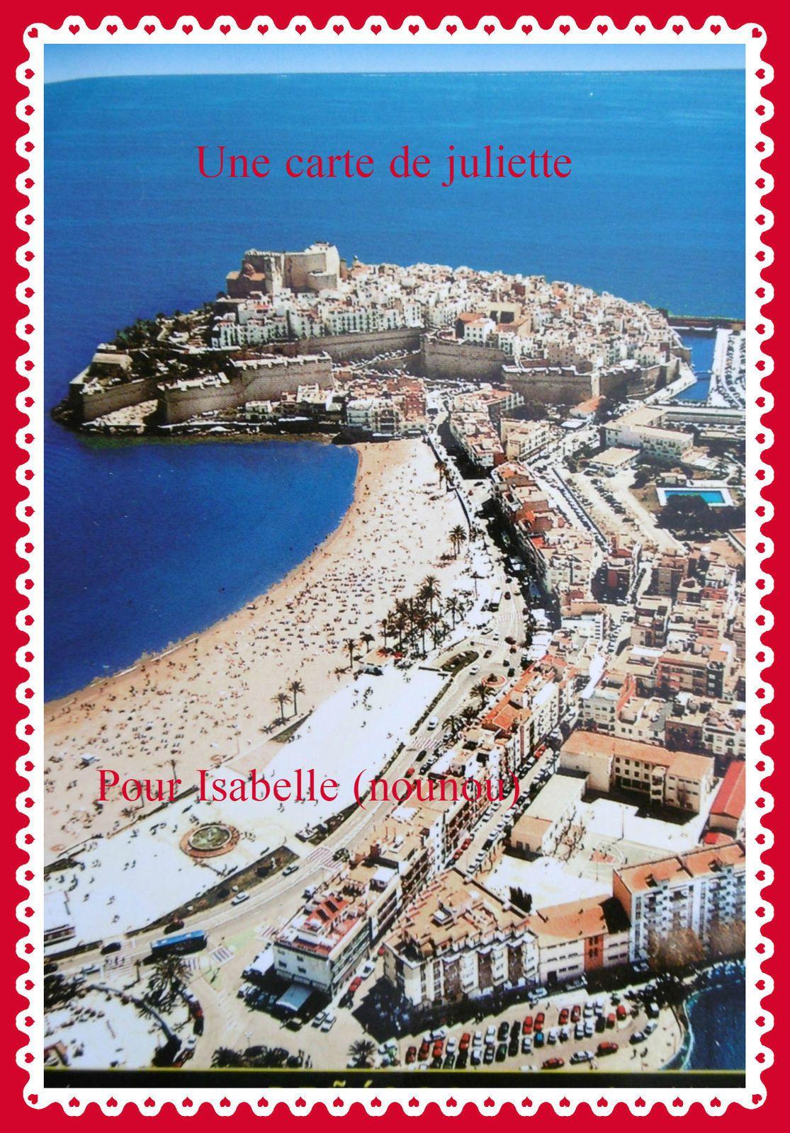 Une carte postale d'Espagne!