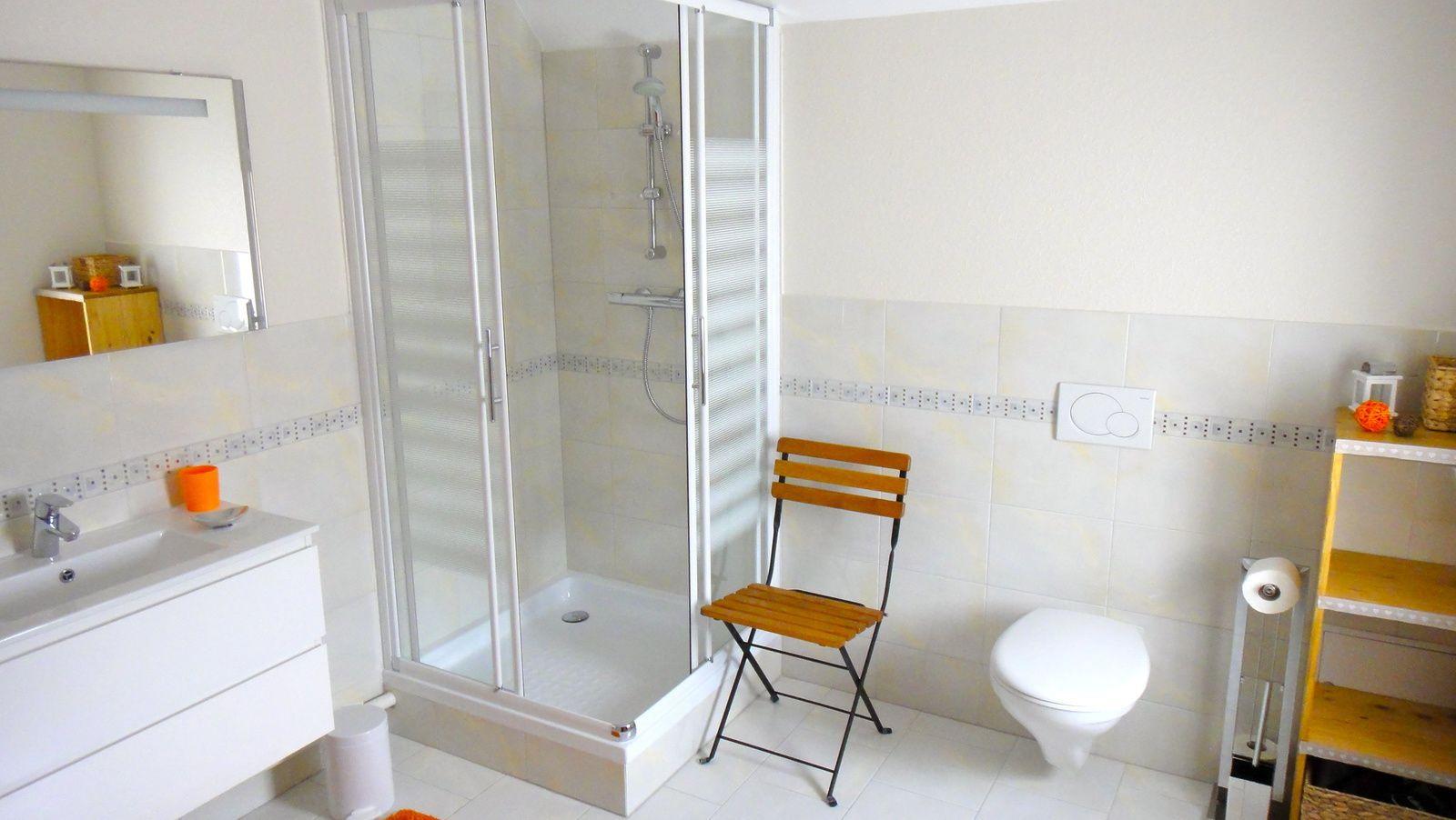 Salle d'eau (7m2) avec douche & WC