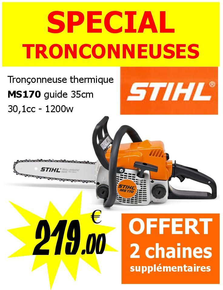 tronconneuse stihl promotion castorama cadeaux bien etre. Black Bedroom Furniture Sets. Home Design Ideas