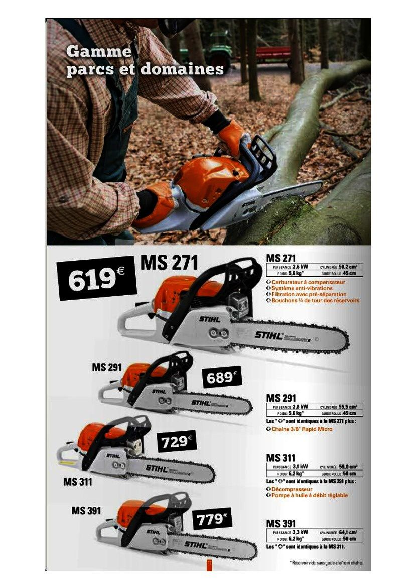 Stihl chainsaw discount coupon