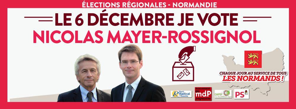Pour la Normandie avec Nicolas Mayer-Rossignol